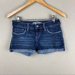 Levi's Shorty Shorts rolled jean shorts size 3